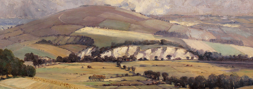 Will Longstaff View of Amberley from Bury Hill Hammer price: £1,400