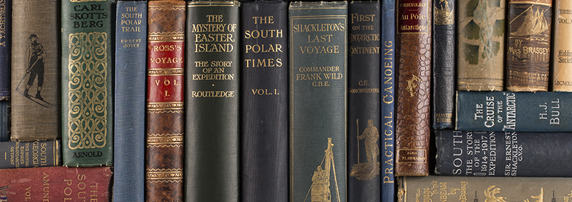 Works from the Michael Gilkes Travel and Exploration Library