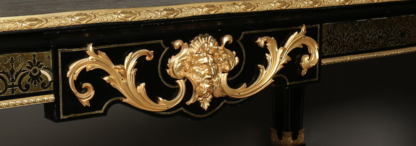 A large late 19th Century French boulle work and gilt bronze mounted centre table