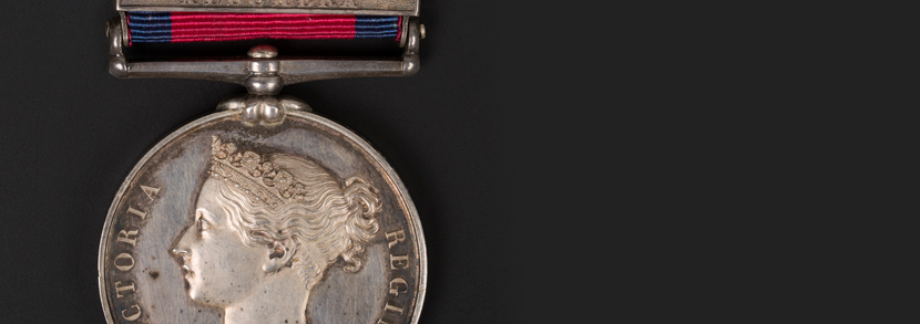 Military General Service Medal with three bars to John Ererett Hammer price: £1,400