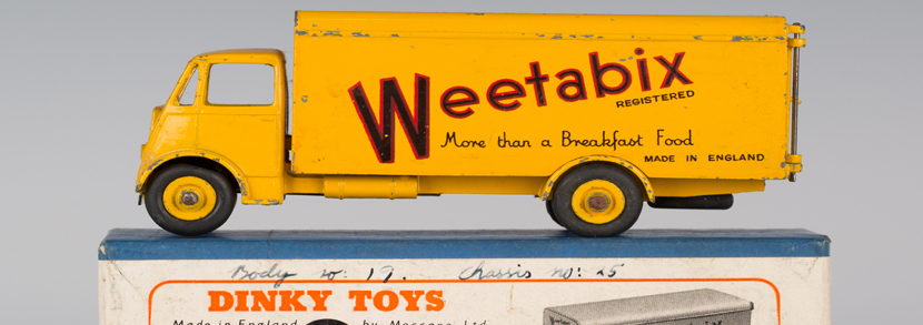 Dinky Toys No. 514 Guy van 'Weetabix', first type, boxed