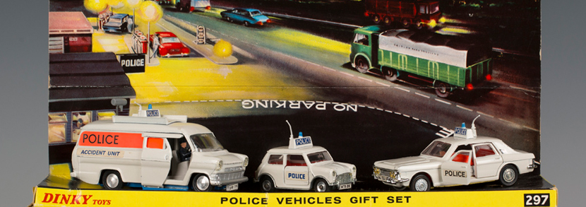 Dinky Toys No. 297 Police Vehicles Gift Set