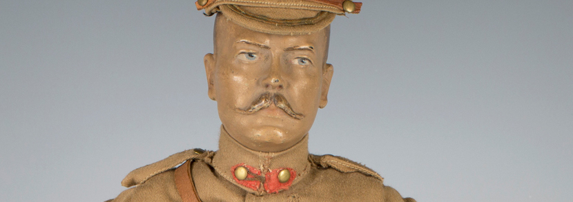 Earl Kitchener of Khartoum doll