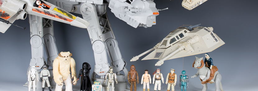 A good collection of Star Wars, The Empire Strikes Back and Return of the Jedi action figures, vehicles and accessories