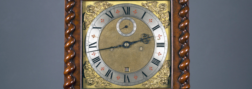 An exceptional and historically important marquetry inlaid walnut longcase clock by William Raynes of York