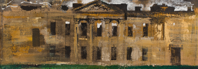 John Piper 'Sutton Scarsdale' entered for our Fine Art Auction on 29th November 2017