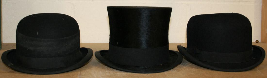 e1c483297de42 A black top hat by Scott   Co
