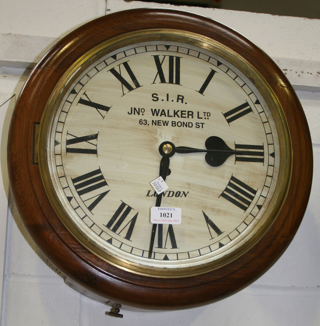 A 20th Century Victorian Style Reproduction Circular Wall