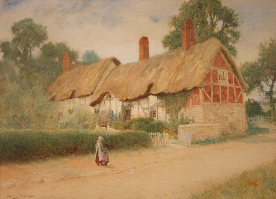 Arthur Claude Strachan - 'Anne Hathaway's Cottage