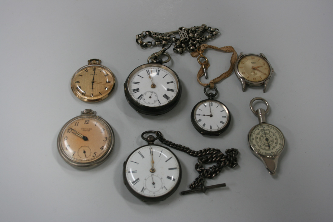 how to open a fusee pocket watch
