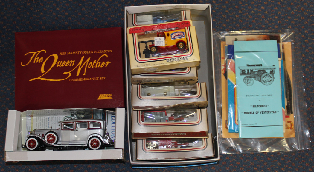 A Matchbox Models of Yesteryear Connoisseurs Collection limited