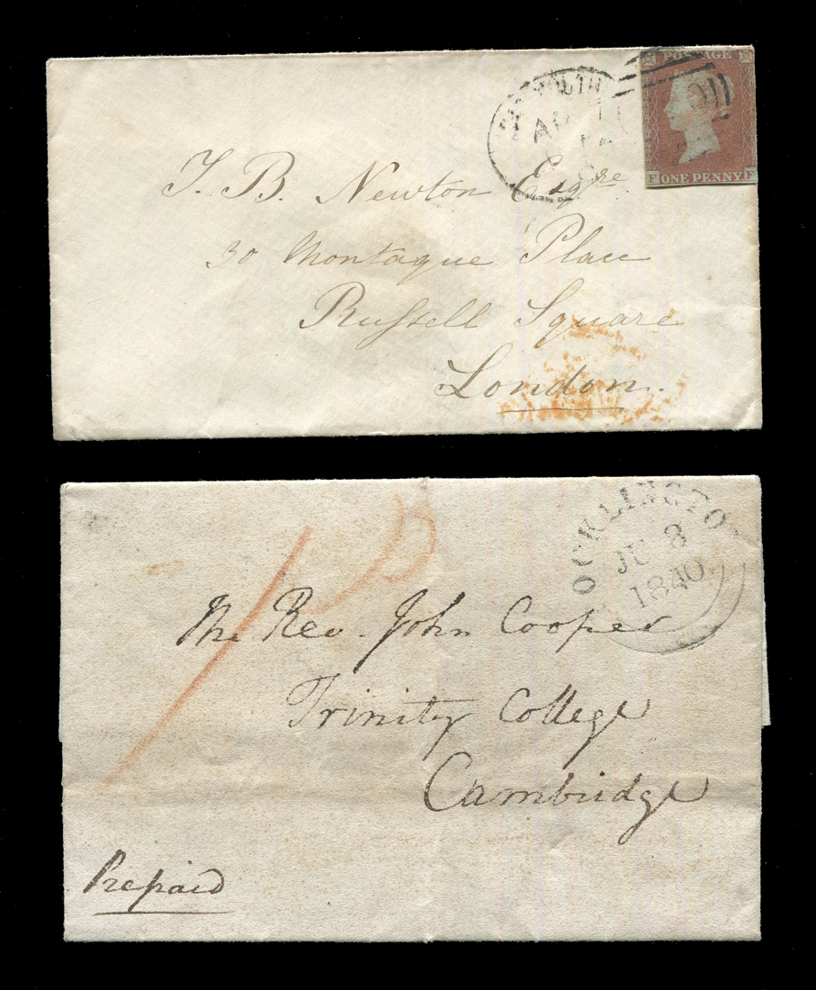 A collection of six early Queen Victoria covers, including