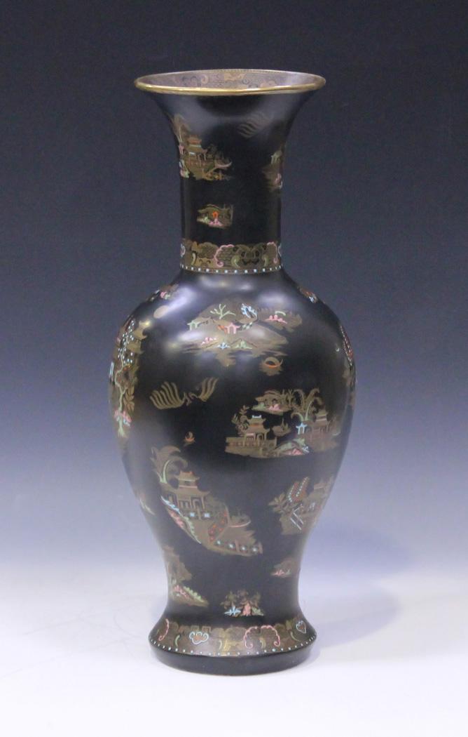 A Wiltshaw Robinson Carlton Ware Vase Circa 1920s The Baluster