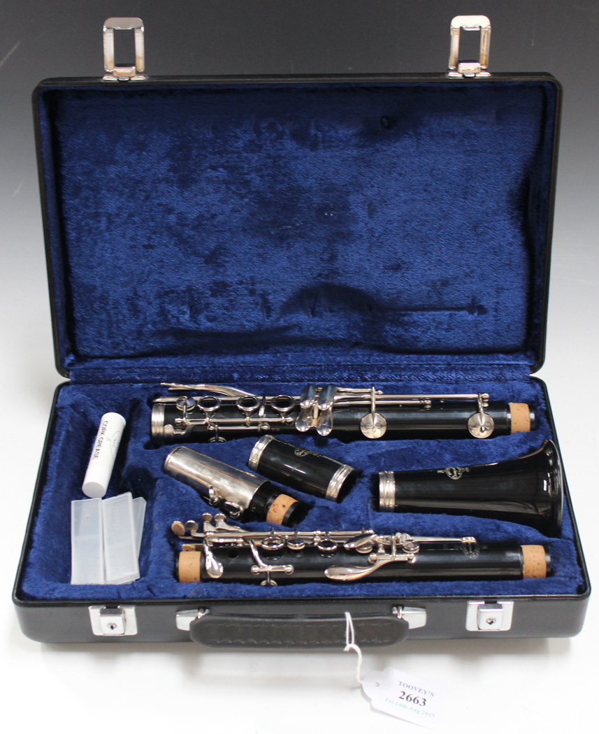 Outstanding A Modern Clarinet Marked Buffet Crampon Cie A Paris And Download Free Architecture Designs Scobabritishbridgeorg
