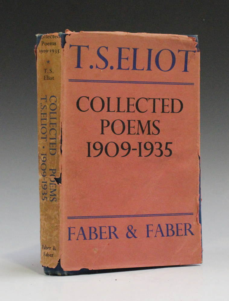 Literature Ts Eliot Collected Poems 1909 1935 London