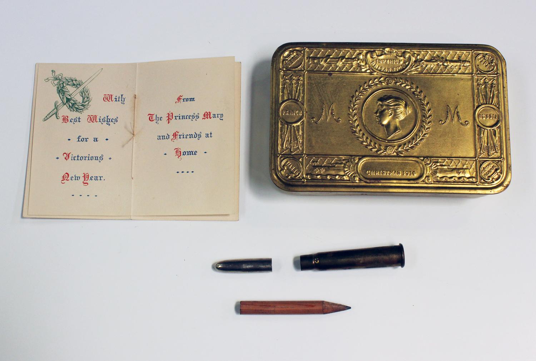 Princess mary gift tin 1914 christmas