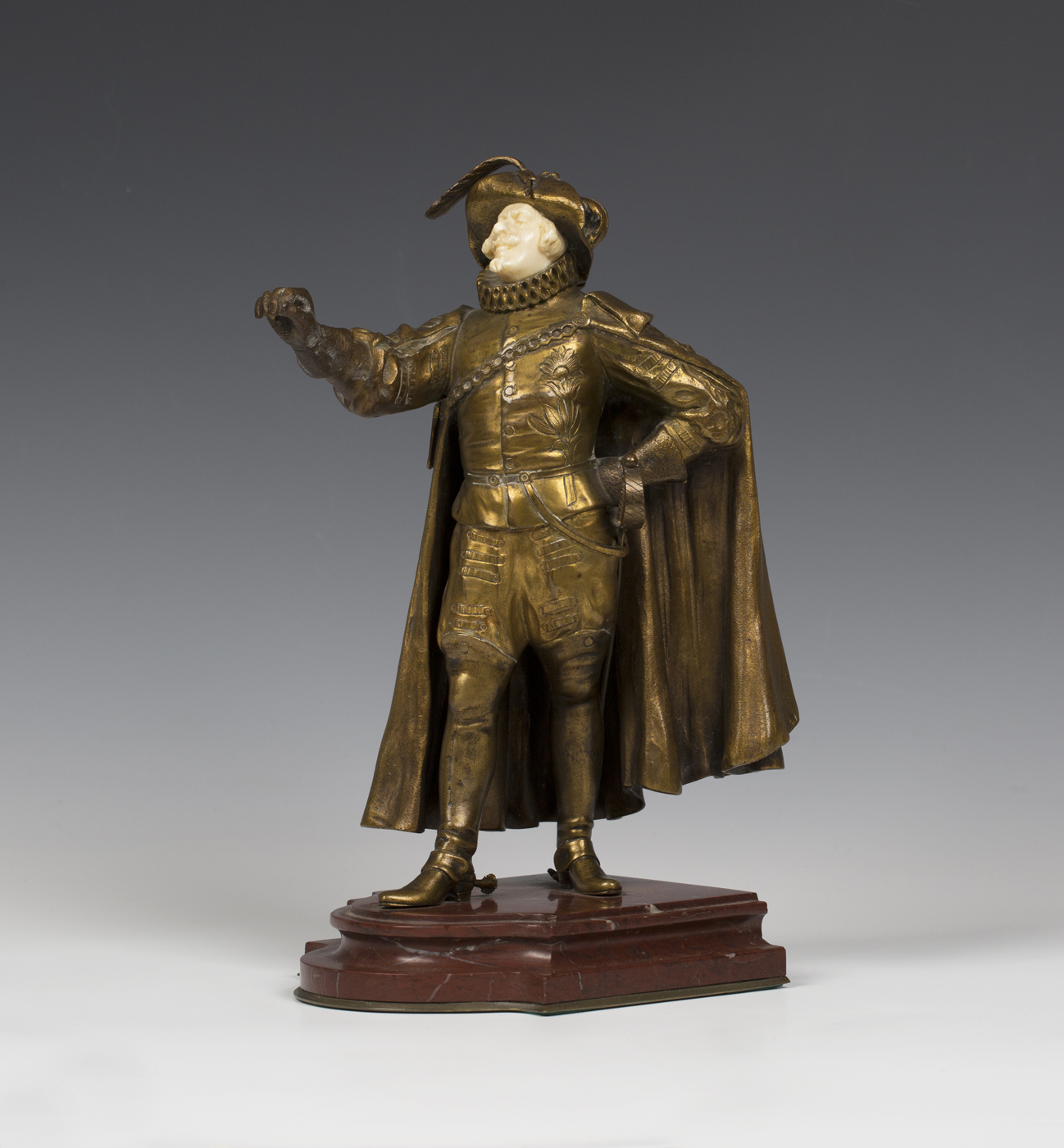 Paul D'Aire - Cyrano de Bergerac, a late 19th/early 20th century