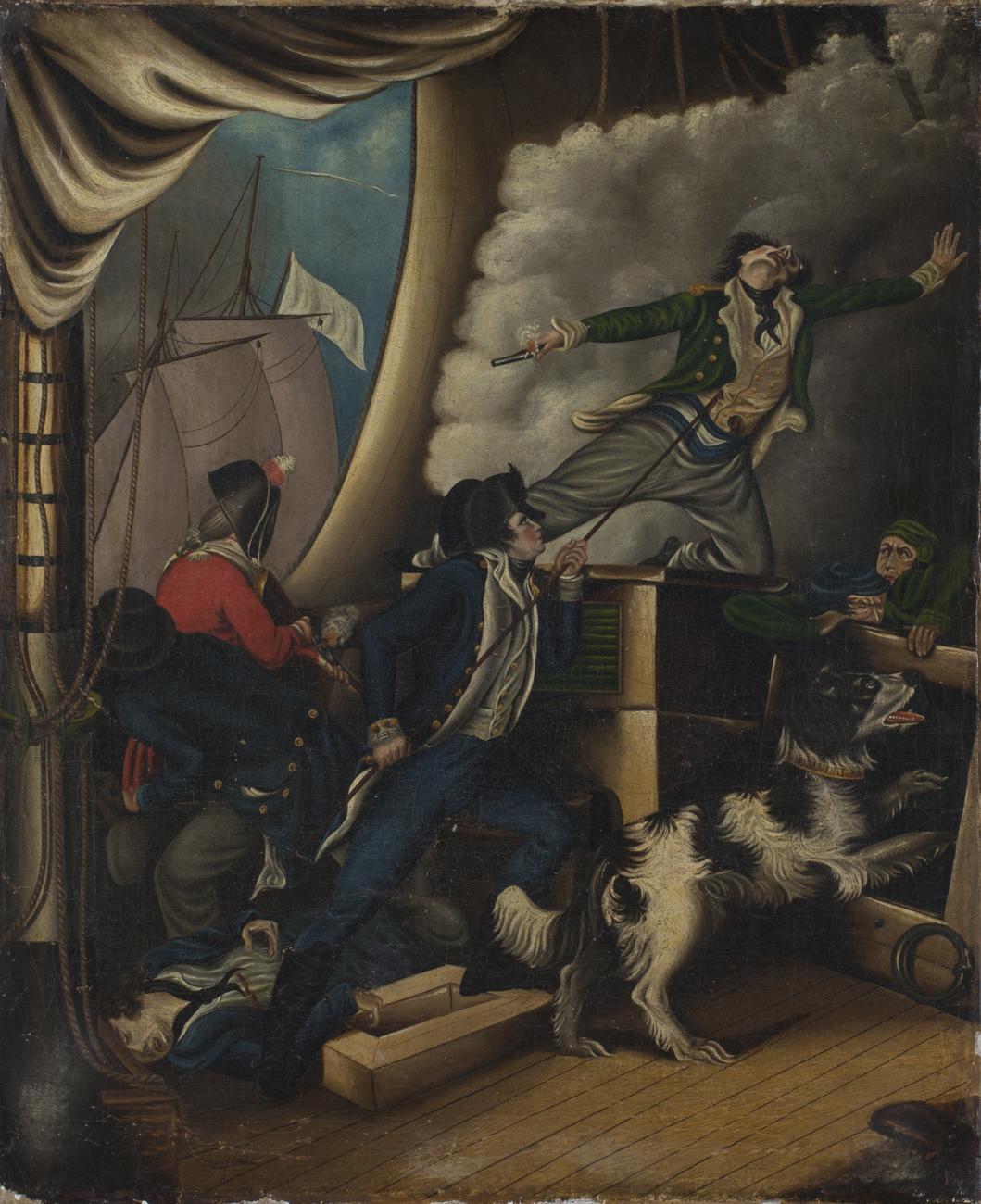 british provincial school 39 h m s wolverene off boulogne 4th jan 1799 her captain lewis mort. Black Bedroom Furniture Sets. Home Design Ideas