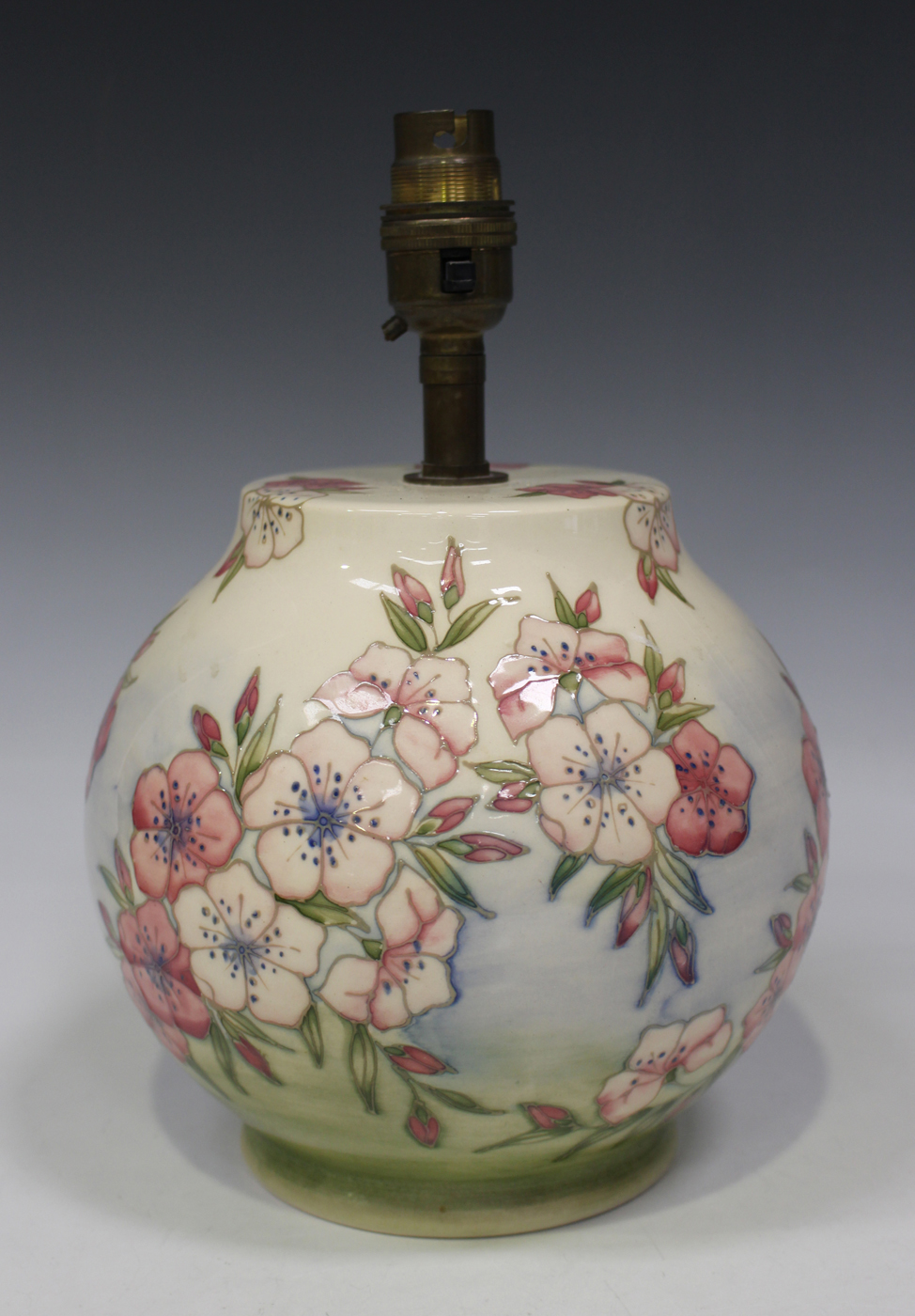 MOORCROFT POTTERY TABLE LAMP BASE